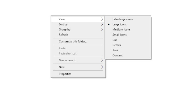 Cara Merubah Tampilan File dan Folder di File Explorer