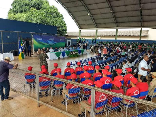 Governo disponibiliza recursos para sinalização de trânsito em Guajará-Mirim