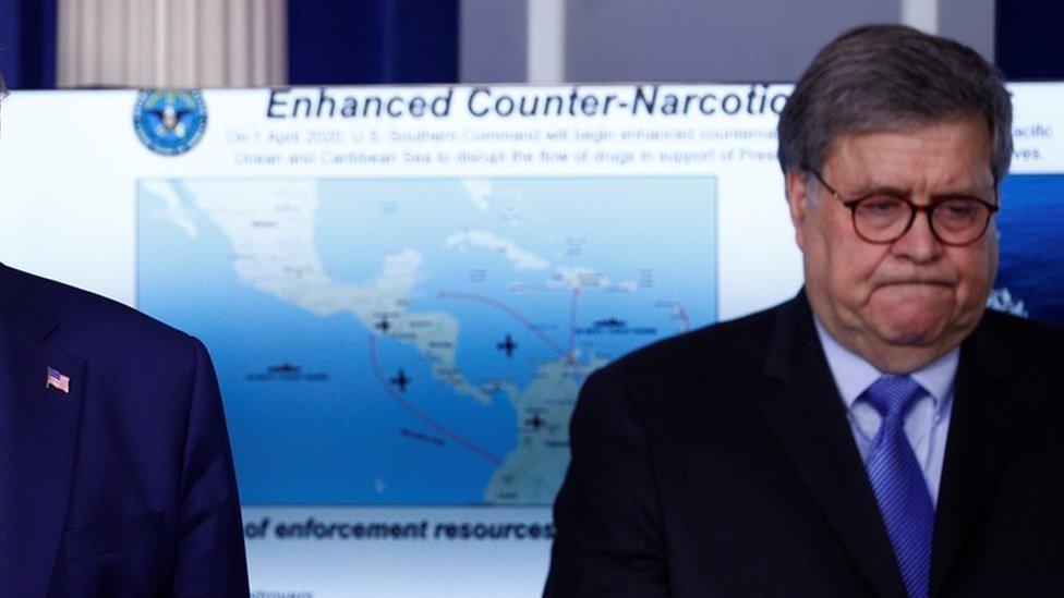 EEUU despliega una fuerza militar naval cerca del territorio de Venezuela para combatir el narcotráfico