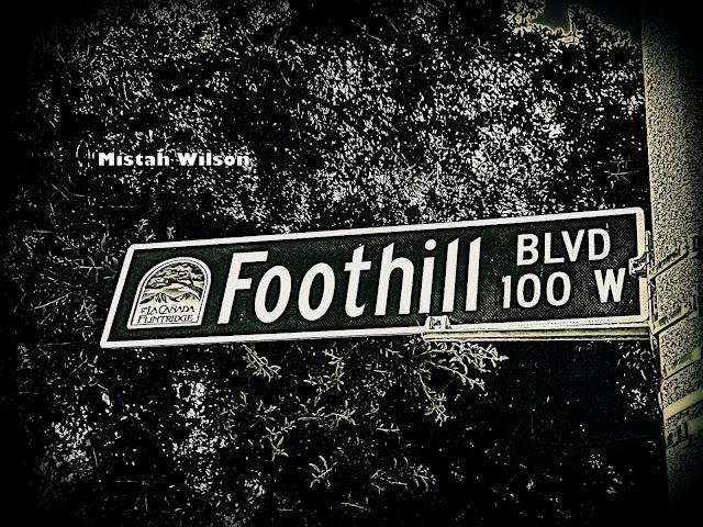 Foothill Boulevard, La Cañada Flintridge, California by Mistah Wilson