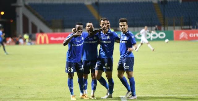 اهداف مباراة سموحة والجونة (3-1) الدوري المصري