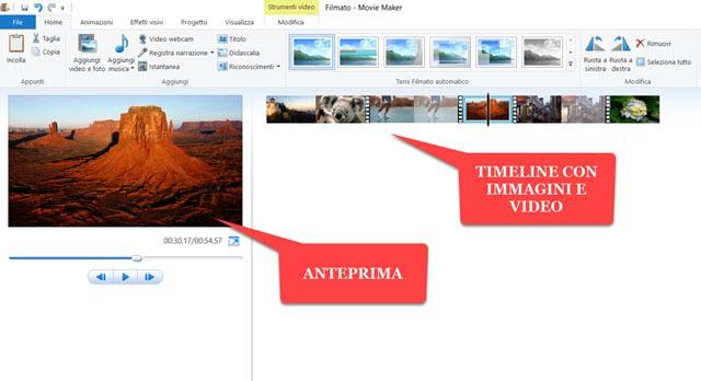 movie-maker-interfaccia