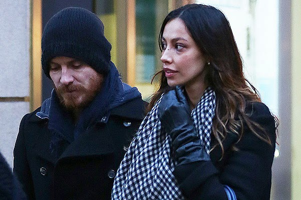 Michael Fassbender and Madalina gene