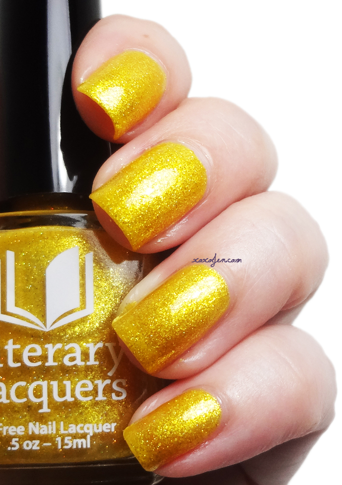 xoxoJen's swatch of Literary Lacquers Curious Yellow