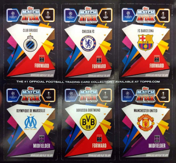 Football Cartophilic Info Exchange: Topps - UEFA Champions ...