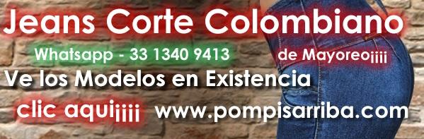 Pantalones Corte Colombiano de Mayoreo