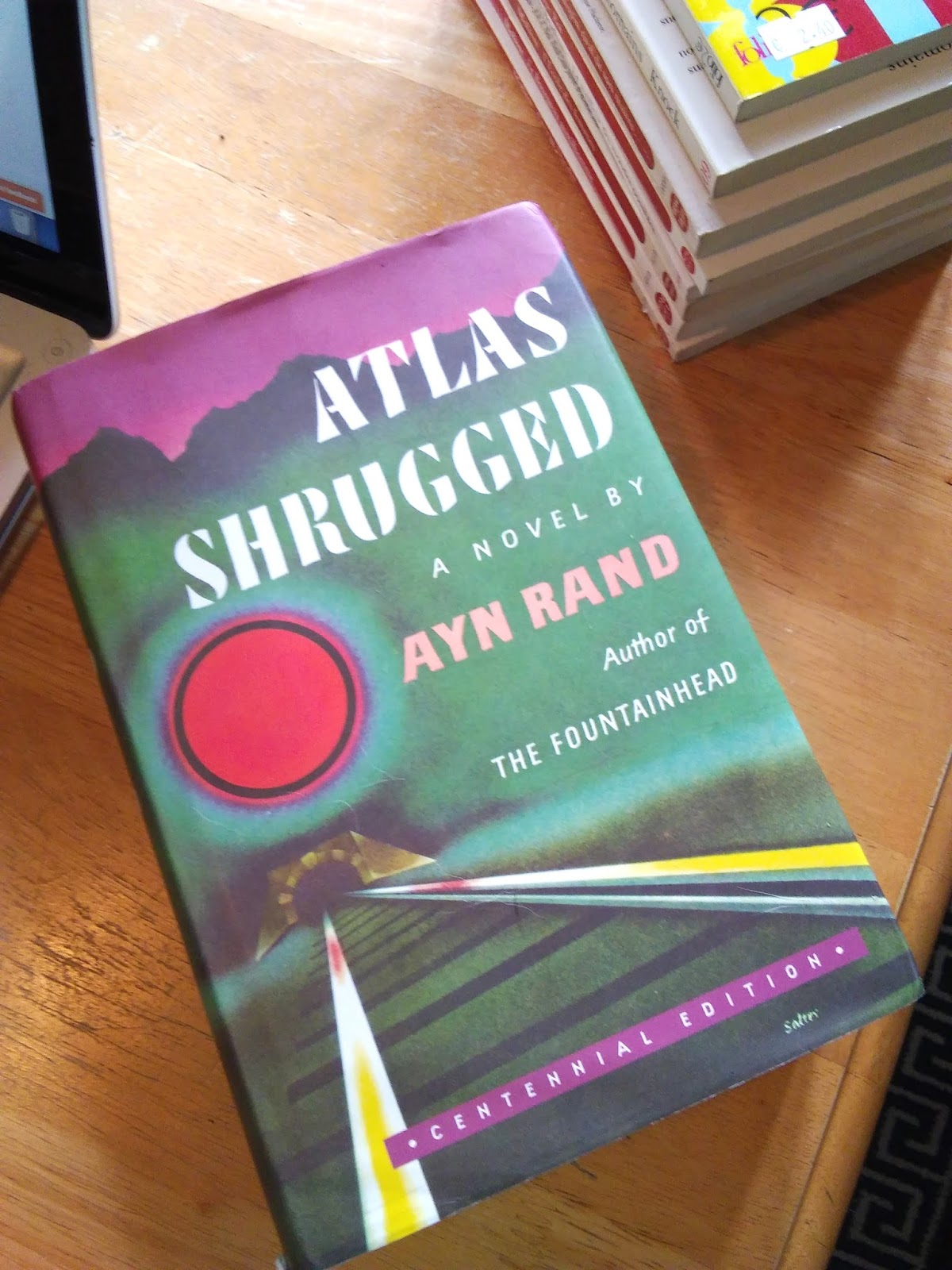 Gently Mad Atlas Shrugged By Ayn Rand