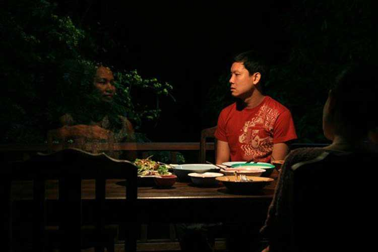 A ghost appears in Uncle Boonmee Who Can Recall His Past Lives.