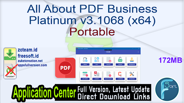 All About PDF Business Platinum v3.1068 (x64) Portable_ ZcTeam.id