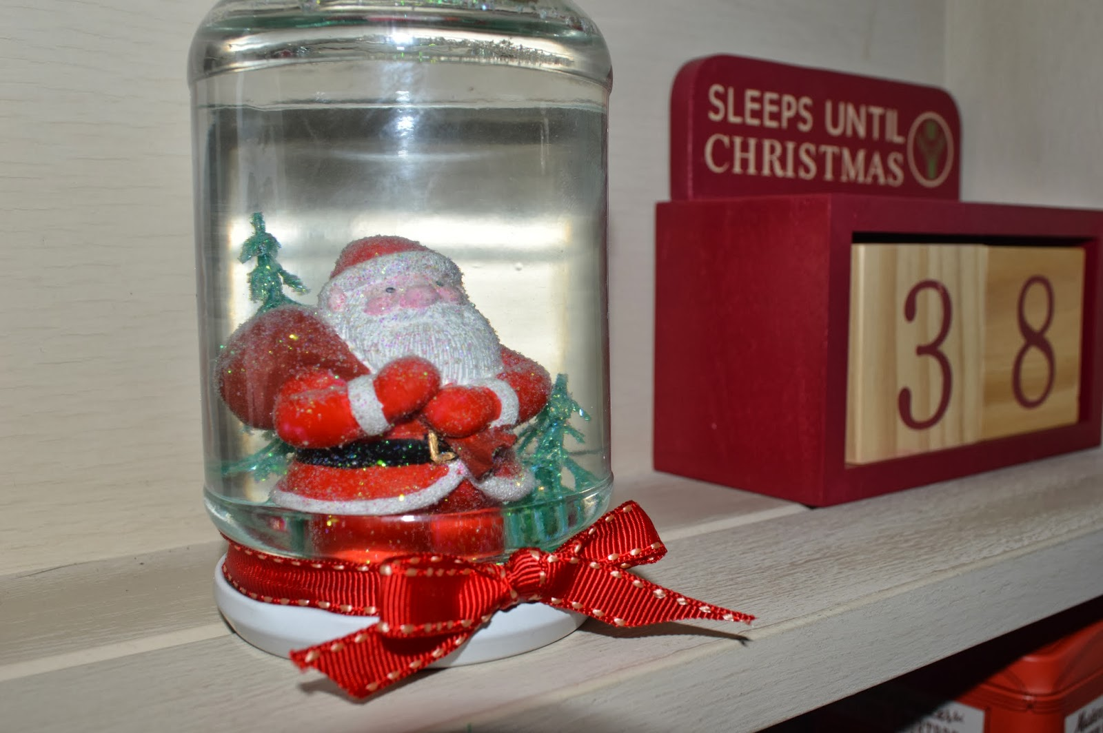 Christmas Crafts Snow Globe To Become Mum
