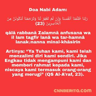 Doa Nabi Adam