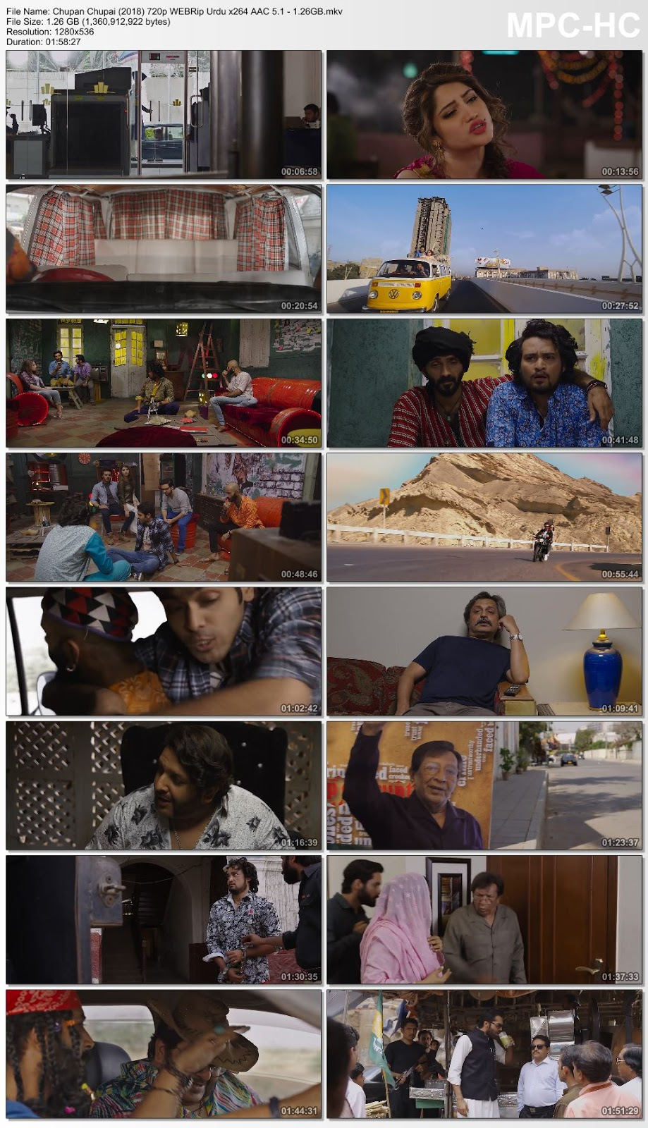 Chupan Chupai (2018) Urdu 480p WEBRip x264 AAC – 350MB Desirehub
