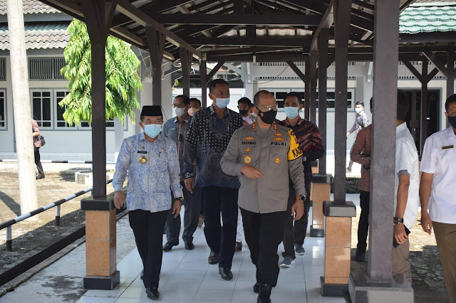 Kapolda dan Gubernur Jambi Tinjau Asrama LPMP yang akan Dimanfaatkan sebagai Tempat Isolasi