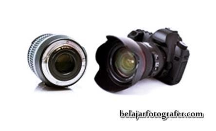 Gambar Digital SLR professional photographer