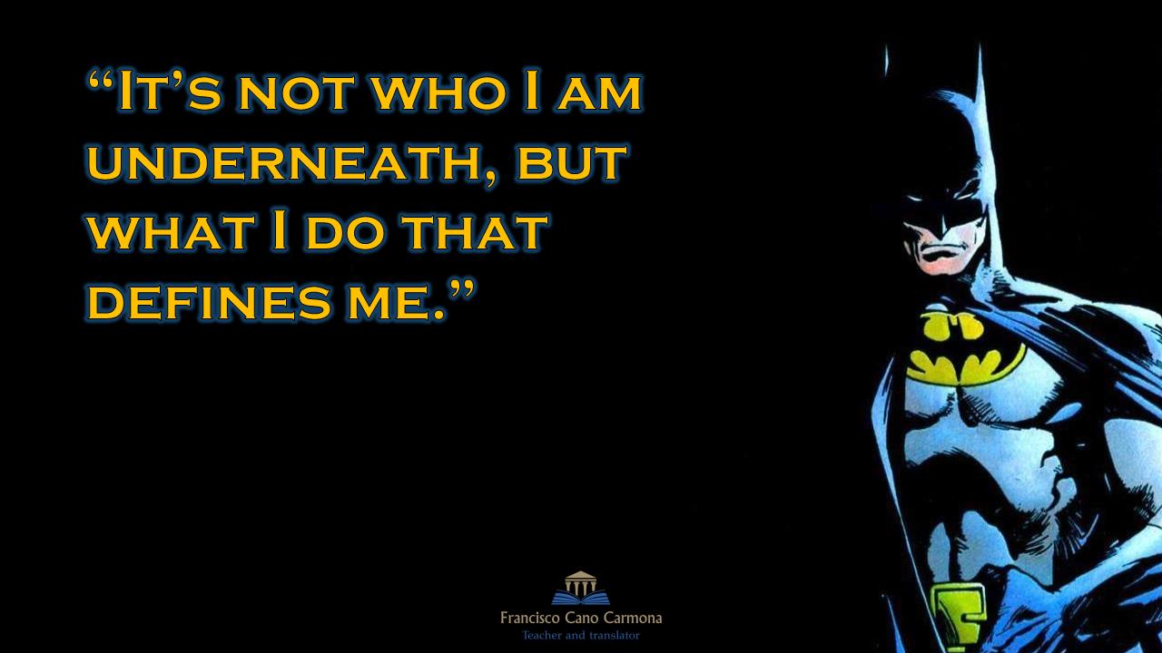 Estantes En El Aula Batman Frases Míticas