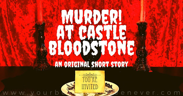 your best halloween ever, murder at castle bloodstone, halloween whodunnit mystery story