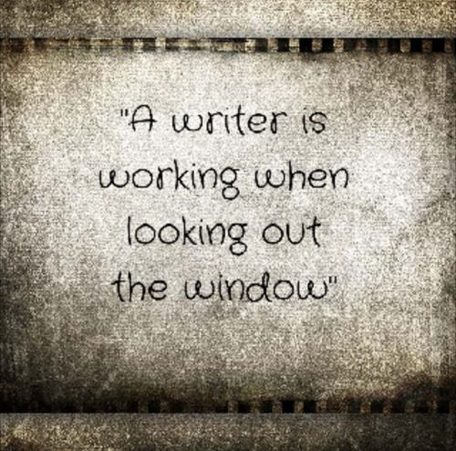 A writer's view