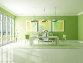 ruang+makan+hijau+minimalis Desain Ruang Makan Hijau Ciptakan Nuansa Alami