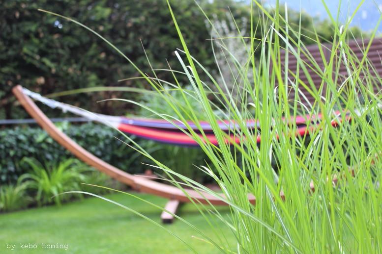 Ein klar strukturierter minimalistischer Garten, verschiedene Gräser, Grüntöne, lineare Beete, clean, minimal styled garden, spring time in the garden, Frühling im Garten, by kebo homing, Südtiroler Food- und Lifestyleblog