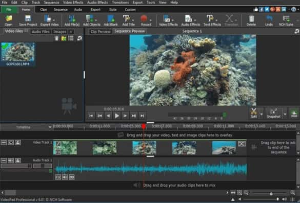 VideoPad Video Editor Yang Ringan Gratis Terbaik