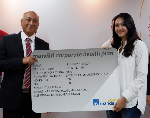 atlet nasional menerima mandiri corporate health plan