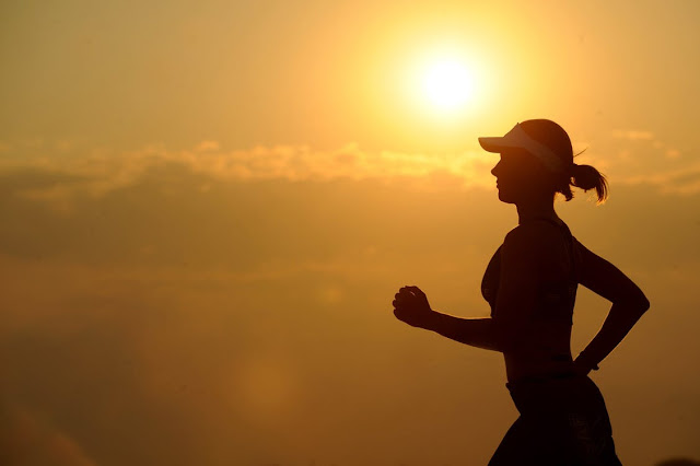 exercise in daylight to beat the winter blues