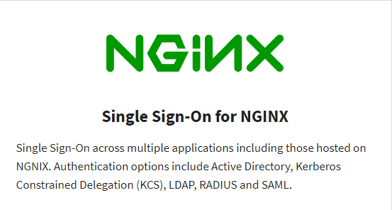Read More Single Sign-On for NGINX
