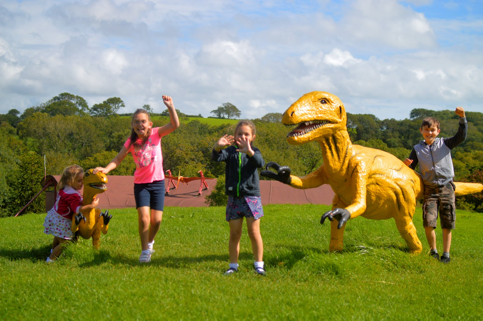 , Birthday Fun at The Dinosaur Park, Tenby