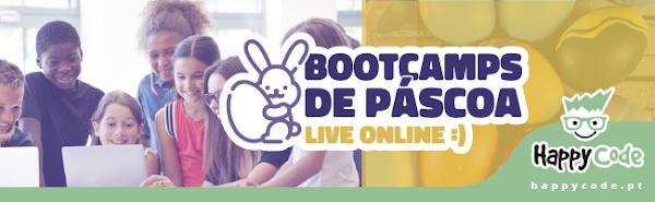 FÉRIAS DE PÁSCOA 100% LIVE ONLINE