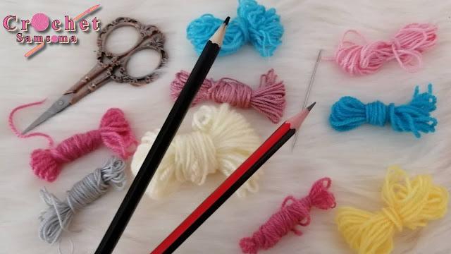 شوفي ماذا يمكنك صنعه ببواقي الخيوط / فكرة مذهلة باستخدام قلمين  مع بواقي الخيوط قناة كروشيه عربية / استغلال بواقى الخيوط  / wool yarn Reuse Idea CRAFTS WITH YARN / how to reuse the wool / تزيين قطع كروشية  / ورود لتزيين قطع الكروشي / ورود كروشيه / أفكار سهلة لعمل ورود بالخيط  /   / هاندميد / أفكار سهلة ببواقى الخيط /طرق استغلال بواقي الخيط / اعمال يدوية بالخيط /  تعليم الكروشية للمبتدئين /Recycling /   كروشيه / حياكة / مشروع  مربح/ افكار /  أعمال يدوية بالخيط /  مشروع مربح كروشيه ببواقى الخيوط