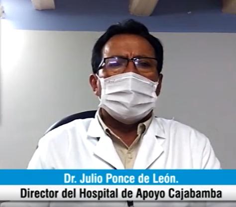 """Doctor Julio Ponce: """"Cajabamba está siendo invadida masivamente por mineros informales"""""""