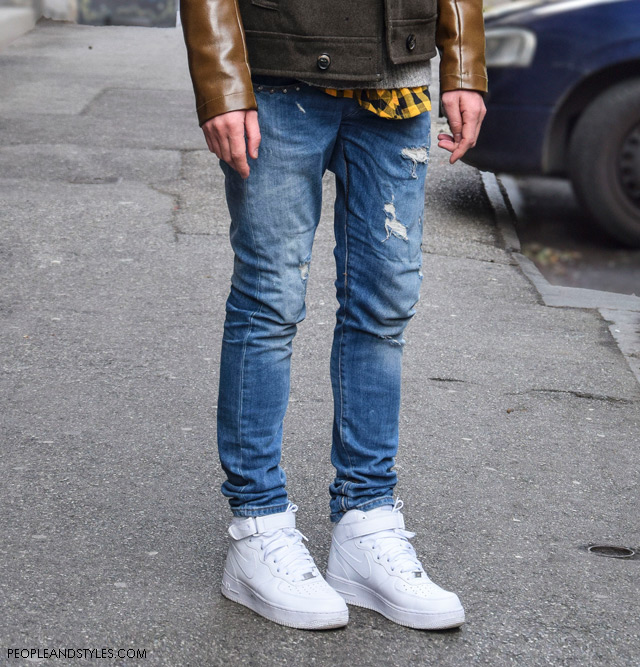 Man's Casual Style: How To Wear White Nike Sneakers , Mate Rončević stil, PRiredba Studio