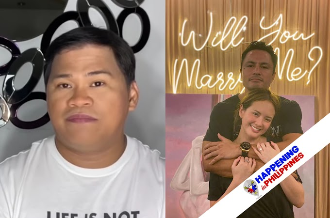 Ogie Diaz, May Reaksyon sa Engagement nina Derek at Ellen