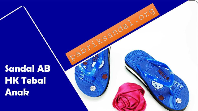 Wedges Sandal Anak Cewek-Harga Murah- Sandal Spon Tebal Anak