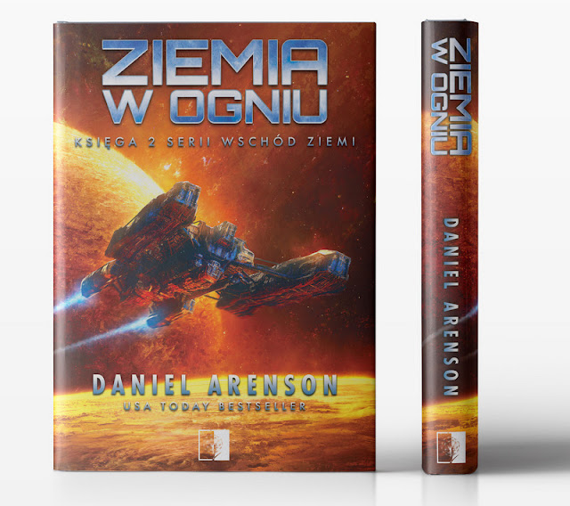 Ziemia w ogniu – Daniel Arenson