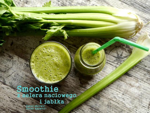 Odchudzające smoothie z selera naciowego i jabłka - Czytaj więcej »