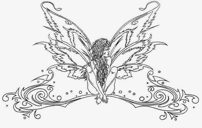 Tattoos Book: +2510 FREE Printable Tattoo Stencils: Angels
