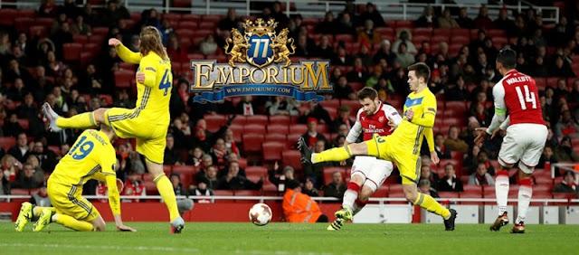 Arsenal Mengamuk Di Emirates Stadium Dengan Menghancurkan BATE 6-0, GANAS.
