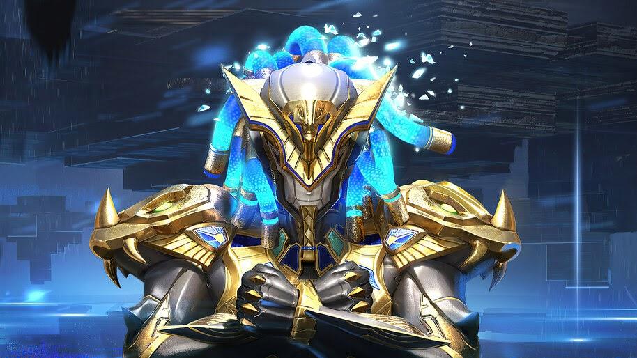 PUBG, Mobile, Golden Pharaoh X-Suit 4K, #5.2616