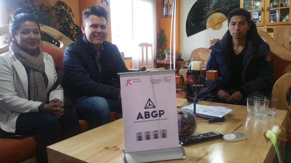 Carvajal, Toro y Santander, jóvenes seleccionados por la ABGP para representar a Bolivia en México / FACEBOOK
