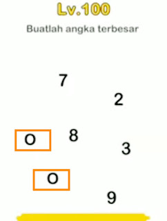 Buatlah Angka Terbesar : buatlah, angka, terbesar, 美しい, Brain, サゴタケモ