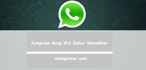 Kumpulan Link Grup WA Sahur Ramadhan