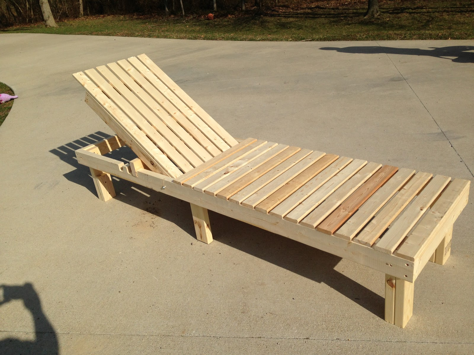 Wooden Lounge Chair Plans Diy Kids Handy Hubby The King Squad