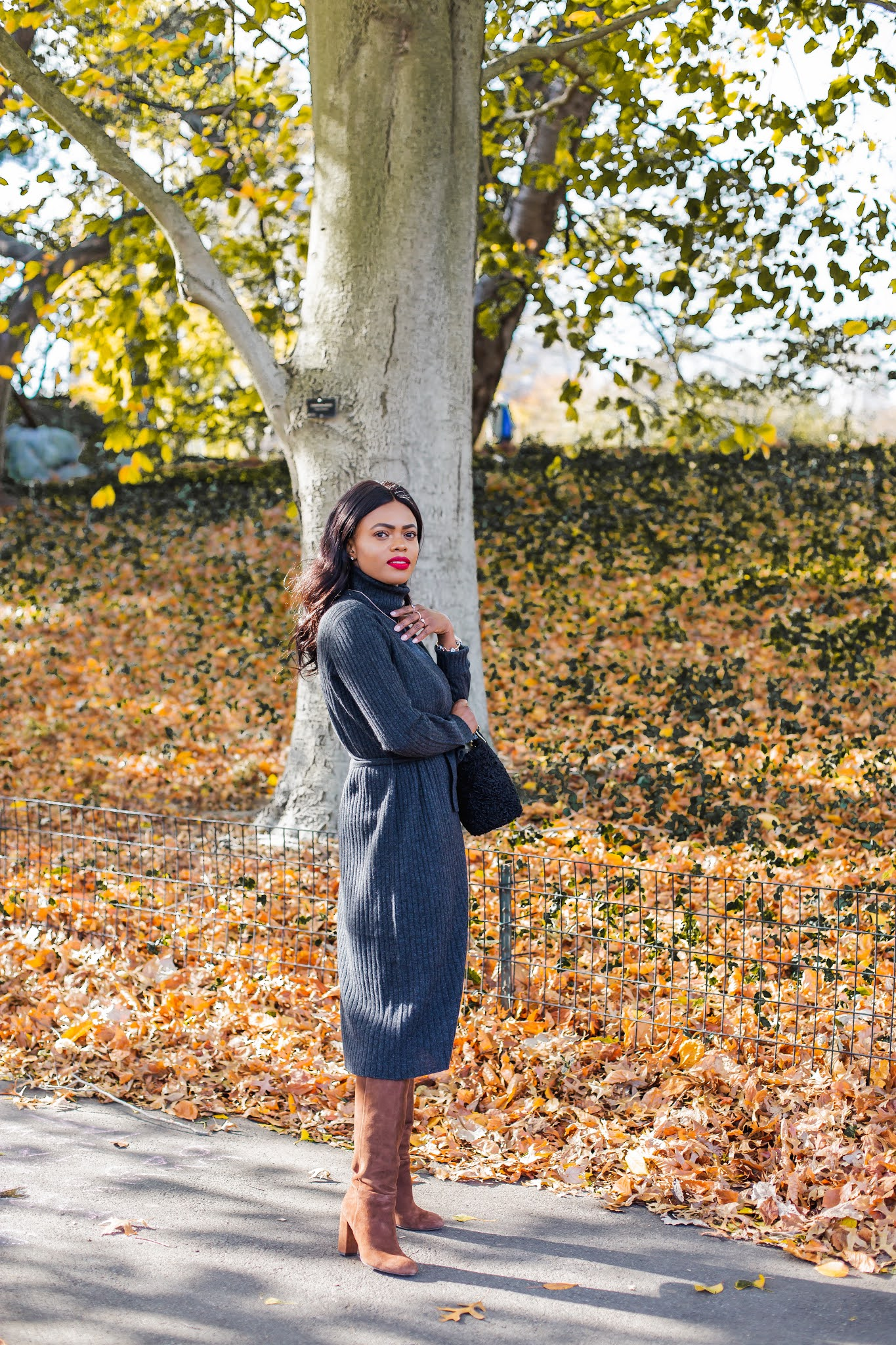 The Cashmere Knit Dress You Need This Winter