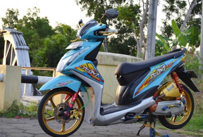 Modifikasi Motor Beat Ceper