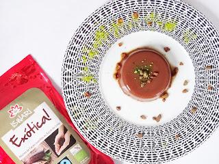 {Dessert healthy} : Flan vegan cacao cru