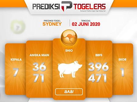 Kode Syair Sydney Selasa 02 Juni 2020 - Prediksi Togelers