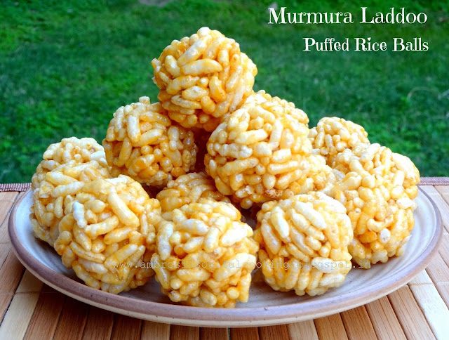 Image result for jaggery puffed rice