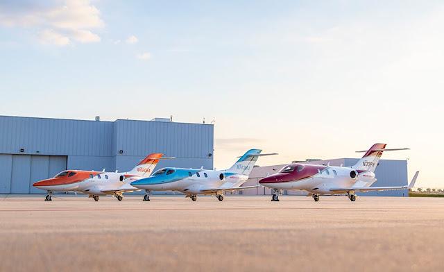 Penjualan Pesawat Jet Honda.