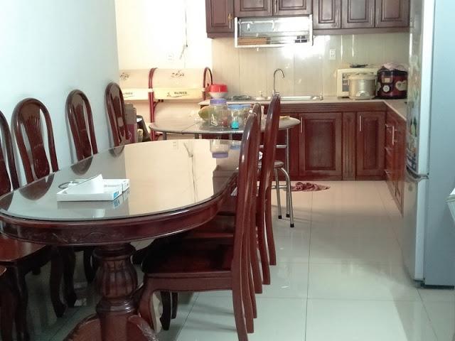 Phòng ăn nhà cho thuê MT QL51 ngay KCN Phú Mỹ 3 và Cảng Cái Mép